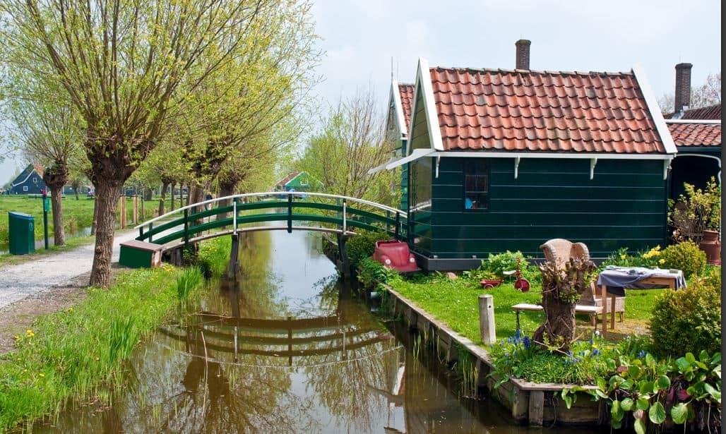 Aalsmeer Amsterdam polder landscape