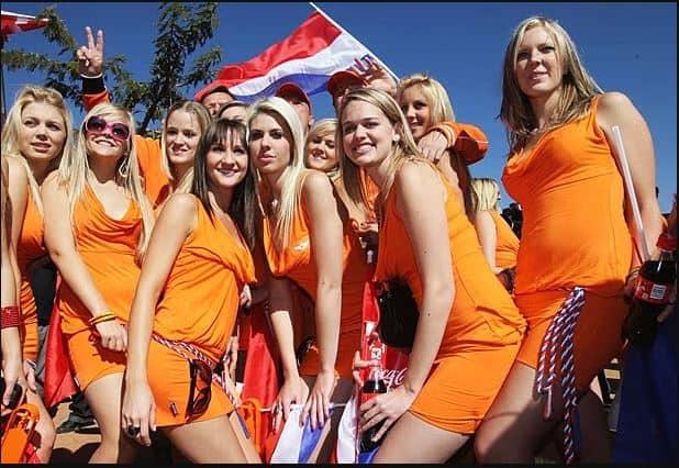 Amsterdam Girls King's Day