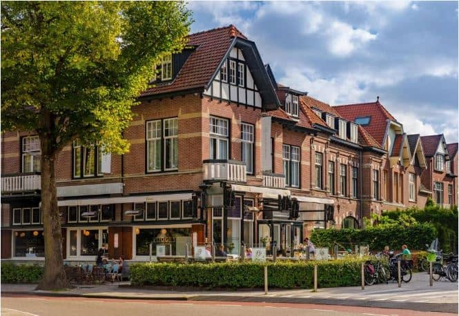 Boutique Hotel Bloemendaal 19th century building