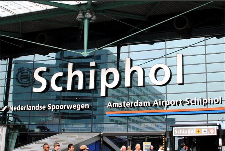 Schiphol Main Airport Terminal