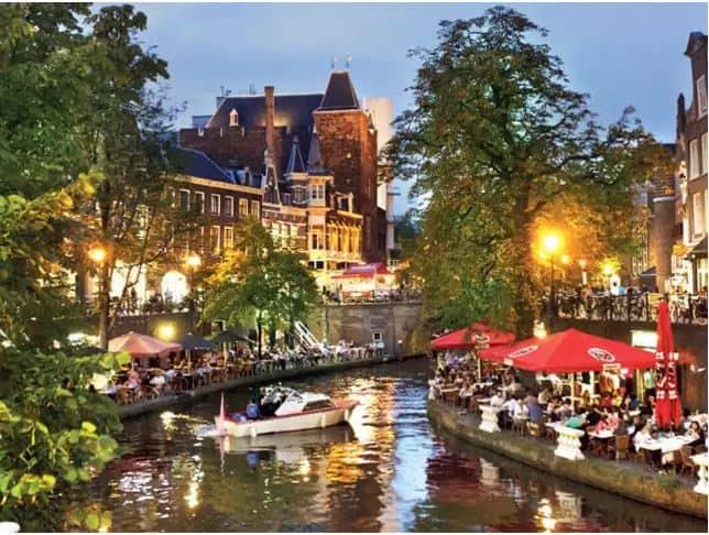 Utrecht Canal Tour