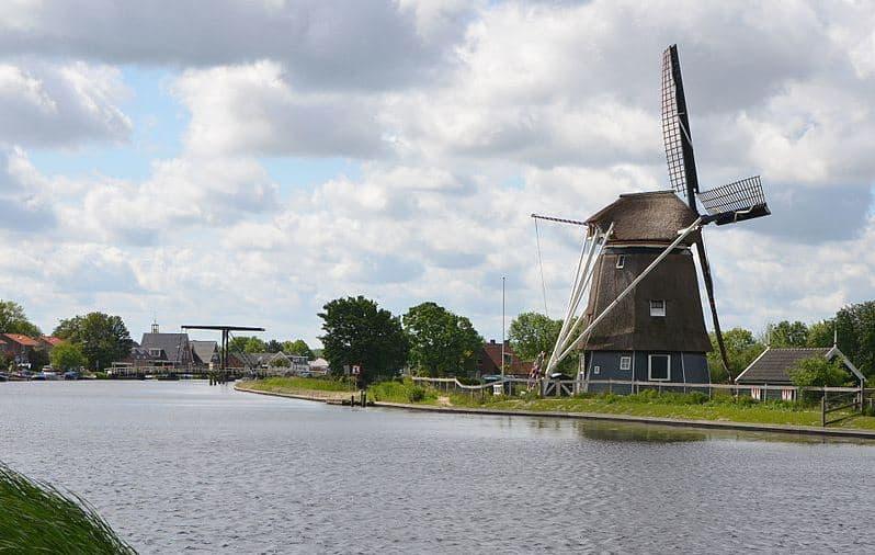 Vijfhuizen Working Windmill